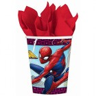 Spider-Man Webbed Paper Cups Pack of 8