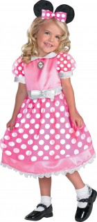Clubhouse Minnie Mouse Pink Toddler / Child Girl's Costume