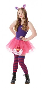 Cheshire Cat Tutu and Accessories Adult Costume Set