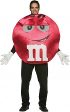 M&Ms Red Deluxe Adult Costume Standard