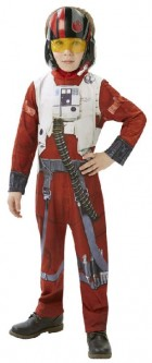 Star Wars Episode VII The Force Awakens Poe Dameron X-Wing Fighter Classic Child Costume