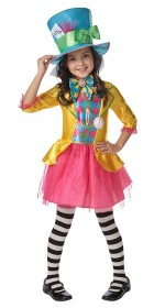 Mad Hatter Girls Tween Costume