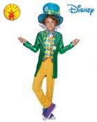 Alice in Wonderland Mad Hatter Deluxe Child Costume 9-10