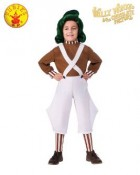 Willy Wonka and the Chocolate Factory Oompa Loompa Classic Child Costume