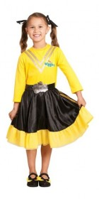 The Wiggles Emma Yellow Wiggle Deluxe Toddler / Child Costume