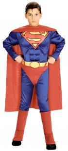 Superman Muscle Chest Toddler / Child Costume