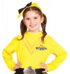 The Wiggles Emma Yellow Wiggle Toddler / Child Top Shirt Costume Accessory