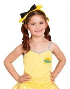 The Wiggles Emma Yellow Wiggle Toddler / Child Ballerina Top Costume Accessory
