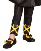 The Wiggles Emma Yellow Wiggle Footless Tights Child Costume Accessory