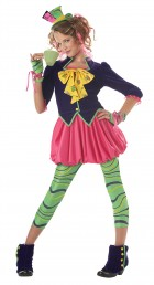 The Mad Hatter Tween Girl's Costume
