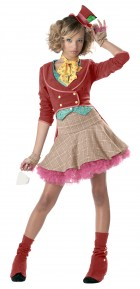 The Mad Hatter Teen Girl's Costume