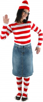 Where's Waldo Wenda Adult Women's Costume Kit