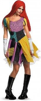 The Nightmare Before Christmas Sexy Sally Adult Women's Costume