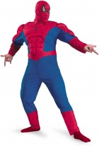 Spider-Man Classic Muscle Plus Adult Costume