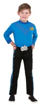The Wiggles Anthony Blue Wiggle Deluxe Toddler / Child Costume