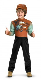 Disney Cars 2 Mater Muscle Toddler / Child Costume