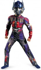 Transformers 3 Dark of the Moon Optimus Prime Muscle Child Costume