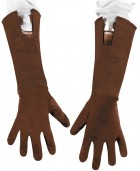 Captain America Child Heroes Gloves Costume Accessory Brown