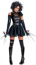 Edward Scissorhands - Miss Scissorhands Secret Wishes Adult Costume