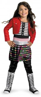 Shake It Up Rocky Deluxe Child Girl's Costume