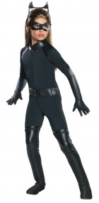 The Dark Knight Rises Deluxe Catwoman Child Costume Large