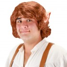 The Hobbit Men's Bilbo Baggins Wig with Ears Costume Accessory