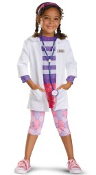 Deluxe Doc McStuffins Toddler/Child Costume