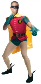 Batman Classic 1966 Series Grand Heritage Robin Adult Costume