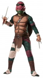 Teenage Mutant Ninja Turtles Movie Deluxe Raphael Child Costume