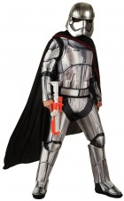 Star Wars Episode 7 The Force Awakens Captain Phasma Deluxe Adult Women's Costume Xl