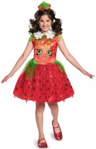Shopkins Strawberry Kiss Child Girl's Costume