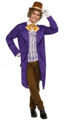 Willy Wonka & The Chocolate Factory: Willy Wonka Deluxe Adult Costume