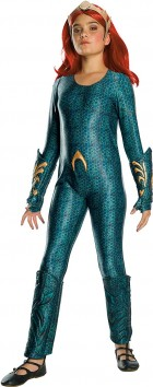Aquaman Mera Deluxe Child Costume