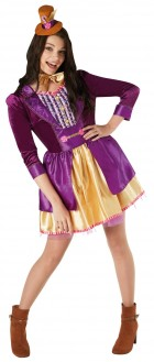 Willy Wonka Ladies Deluxe Adult Costume