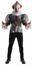 2017 Stephen Kings IT Pennywise Deluxe Adult Costume