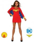 Wonder Woman Dress With Wings Adult Costume Small