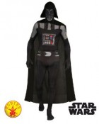 Star Wars Darth Vader Second Skin Suit Adult Costume XL