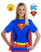 Supergirl T-Shirt Child Costume Kit