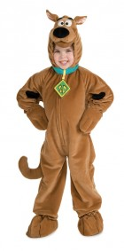 Scooby Doo Deluxe Toddler / Child Costume