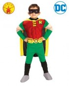 Robin Teen Titans Deluxe Muscle Chest Toddler / Child Costume