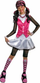 Deluxe Monster High Draculaura Child Girl's Costume
