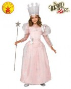 The Wizard of Oz Glinda the Good Witch Deluxe Child Costume Small