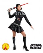Star Wars Darth Vader Female Adult Costume Medium