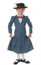 Mary Poppins Deluxe Child Costume