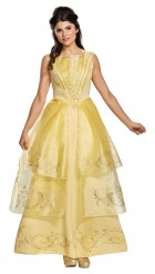Beauty and the Beast 2017 Belle Ball Gown Adult Costume