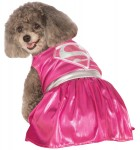 Pink Supergirl Pet Costume