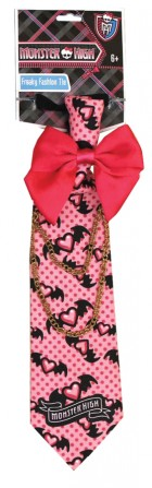 Monster High Freaky Fashion Child Tie Pink