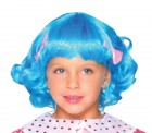 Lalaloopsy Rosy Bumps Girl's Costume Blue Wig