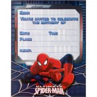 Spider-Man Invitations Pack of 8