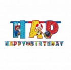 Super Mario Bros. Add an Age Birthday Banner